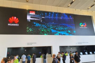 huawei connect shanghai conference exhibition centre screen keynote speaker