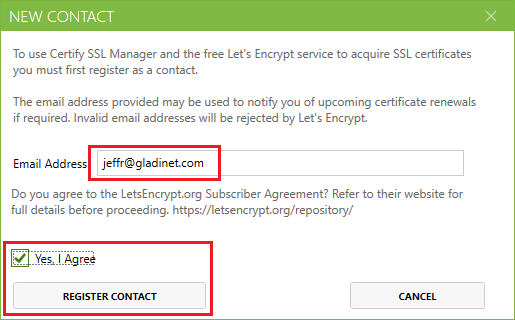 Secure an RD Gateway using Let's Encrypt