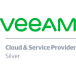 veeam silver cloud and service provider logo