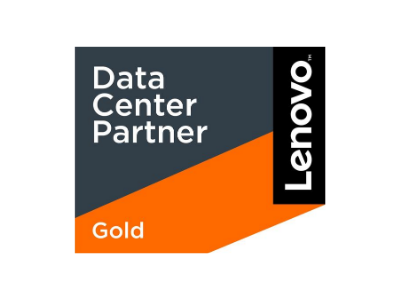 lenovo data centre gold partner logo