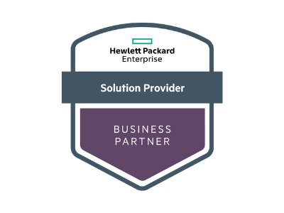 hpe solution provider business partner logo